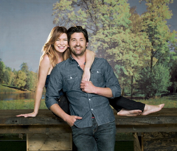 Patrick Dempsey and Ellen Pompeo, TV Guide, September 27, 2010